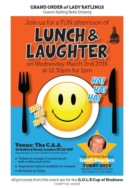 LUNCH & LAUGHTER
