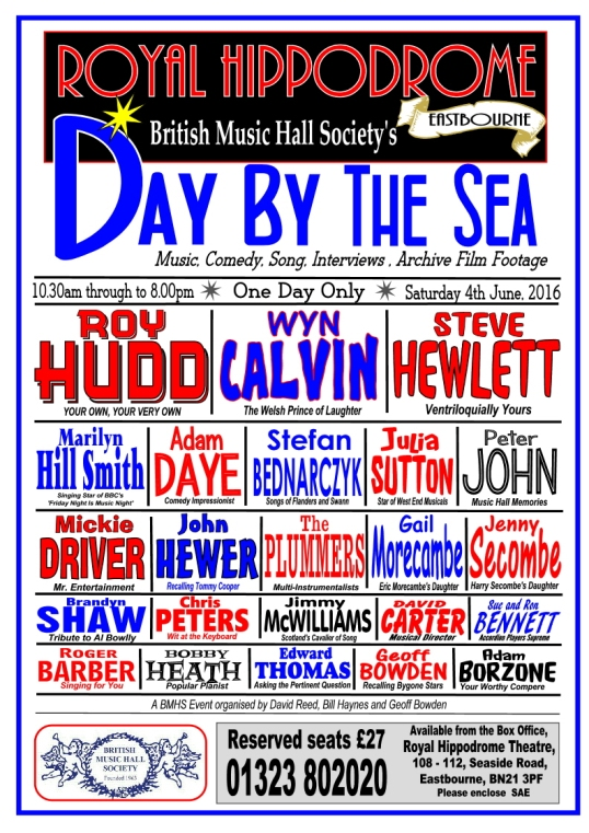 2016 Day By The Sea Poster with  new tel no.