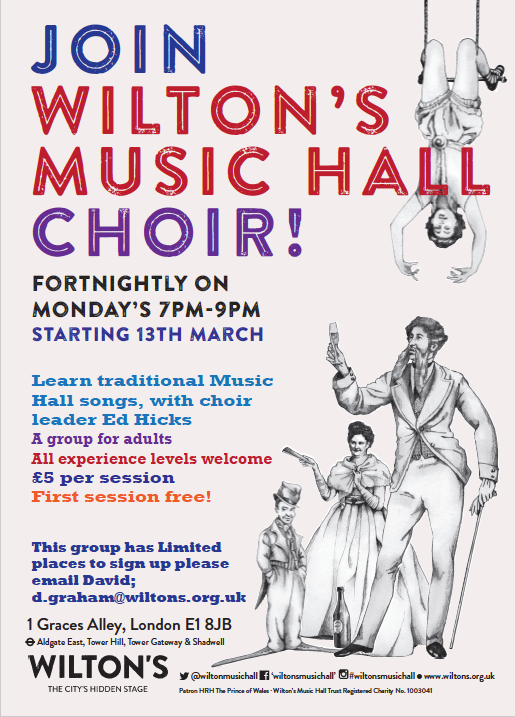 Wilton's Music Hall choir