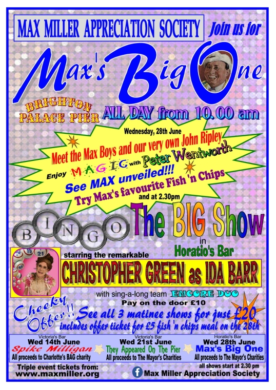 POSTER MAX'S BIG ONE