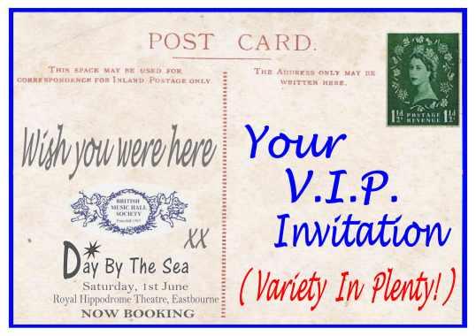V.I.P.INVITATION