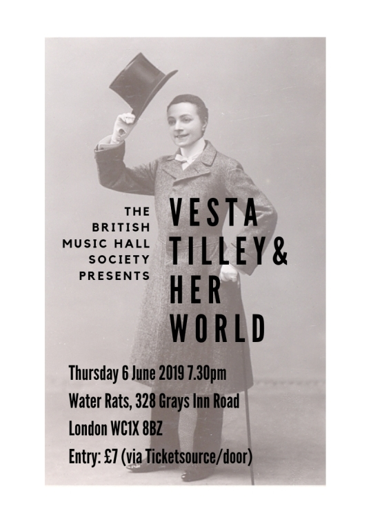Vesta Tilley Talk 1