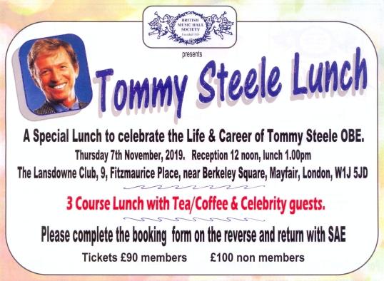 Tommy Steele advert